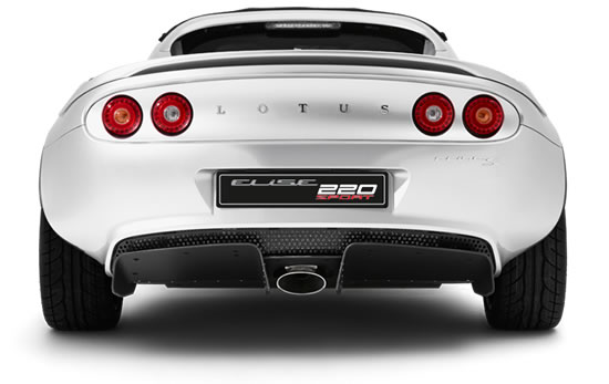 Lotus Rear View
