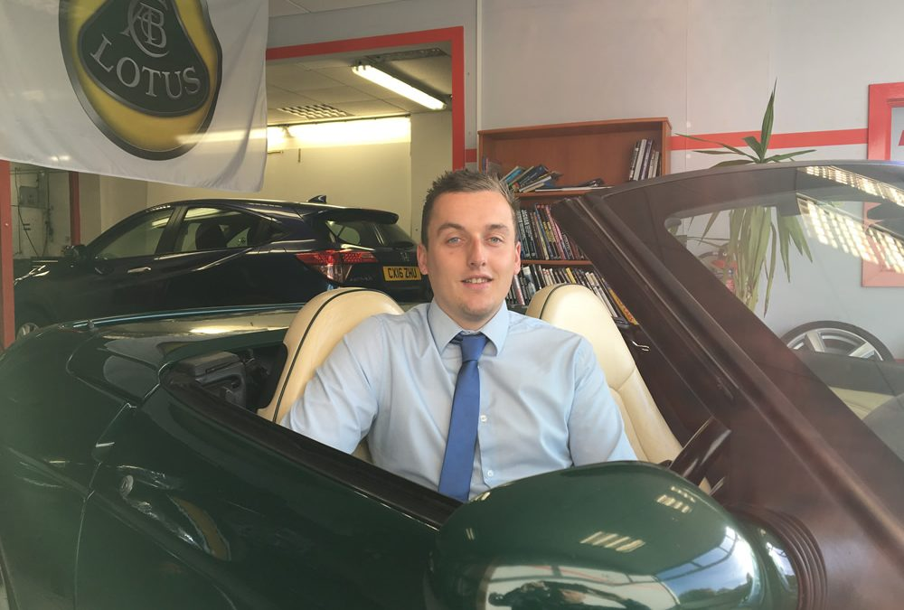 Our North Wales Lotus New & Used Car Specialist – Sam Taylor-Williams